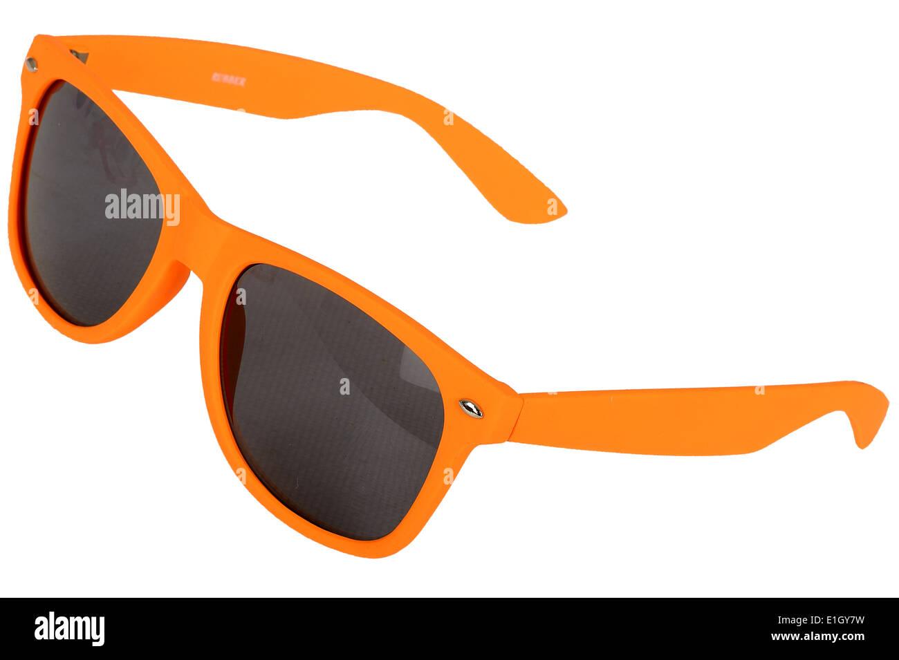 Moda Gafas de sol naranja Imagen De Stock