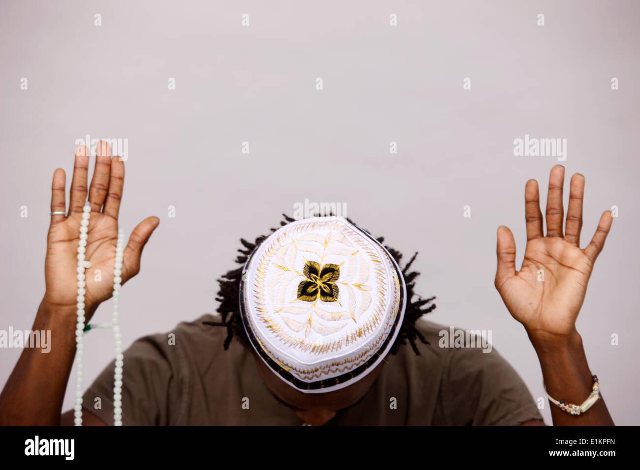 Oración musulmana Imagen De Stock