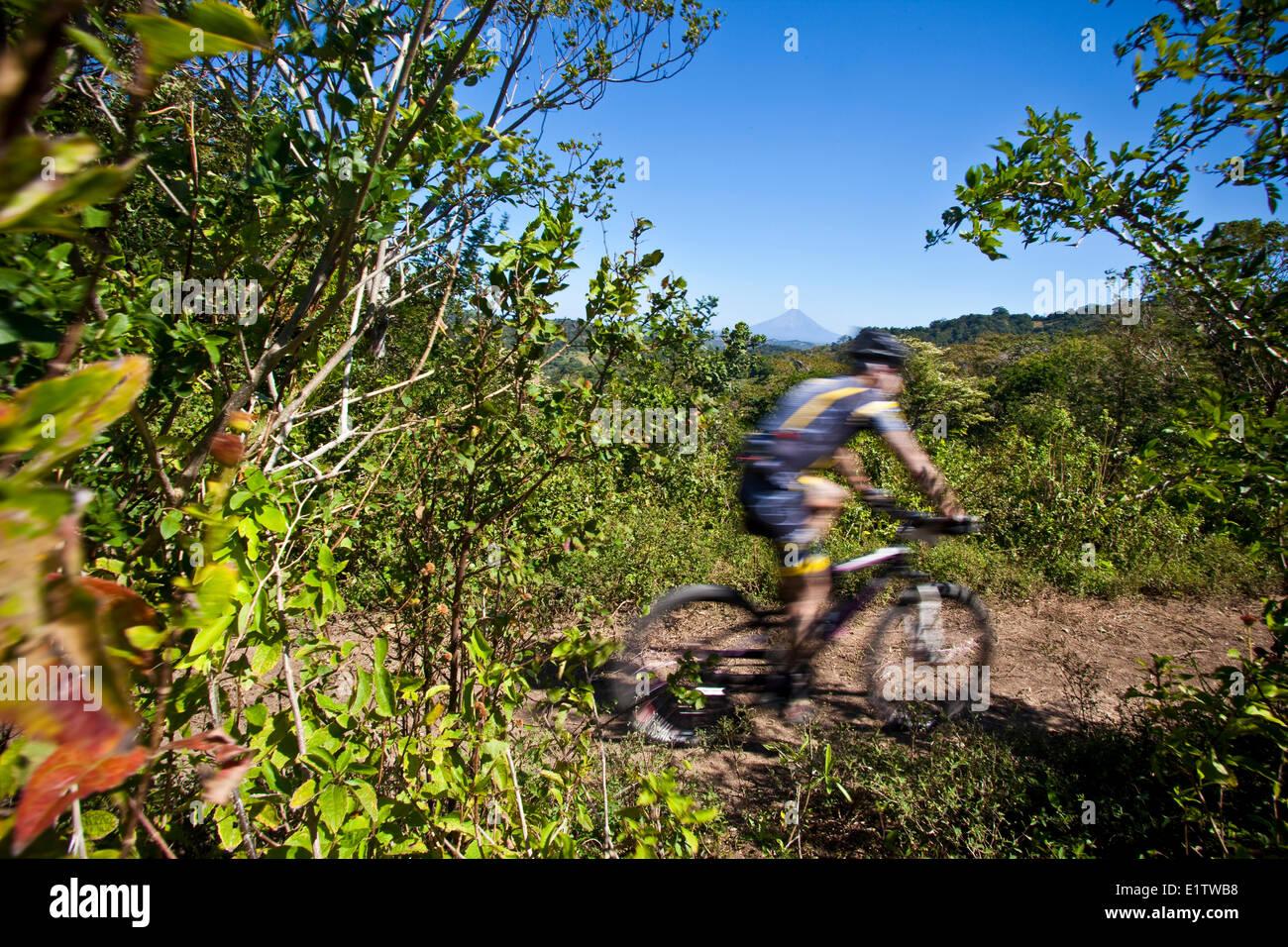 San Juan Howler Mtn Bike carrera, San Juan del Sur, Nicaragua Imagen De Stock