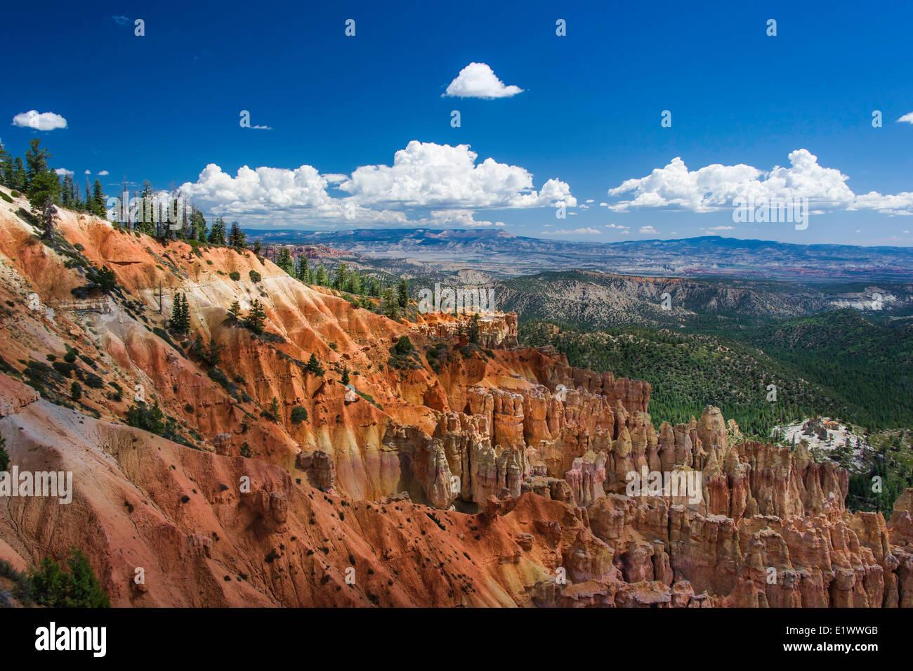 Fotografía de paisaje en el Cañón Bryce Utah fotografía artística Foto de stock
