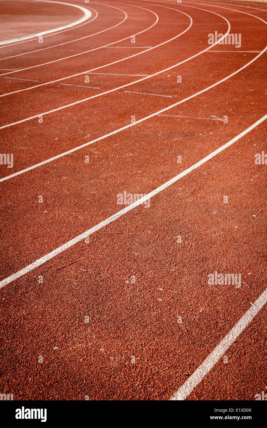 Número de pista de atletismo Imagen De Stock