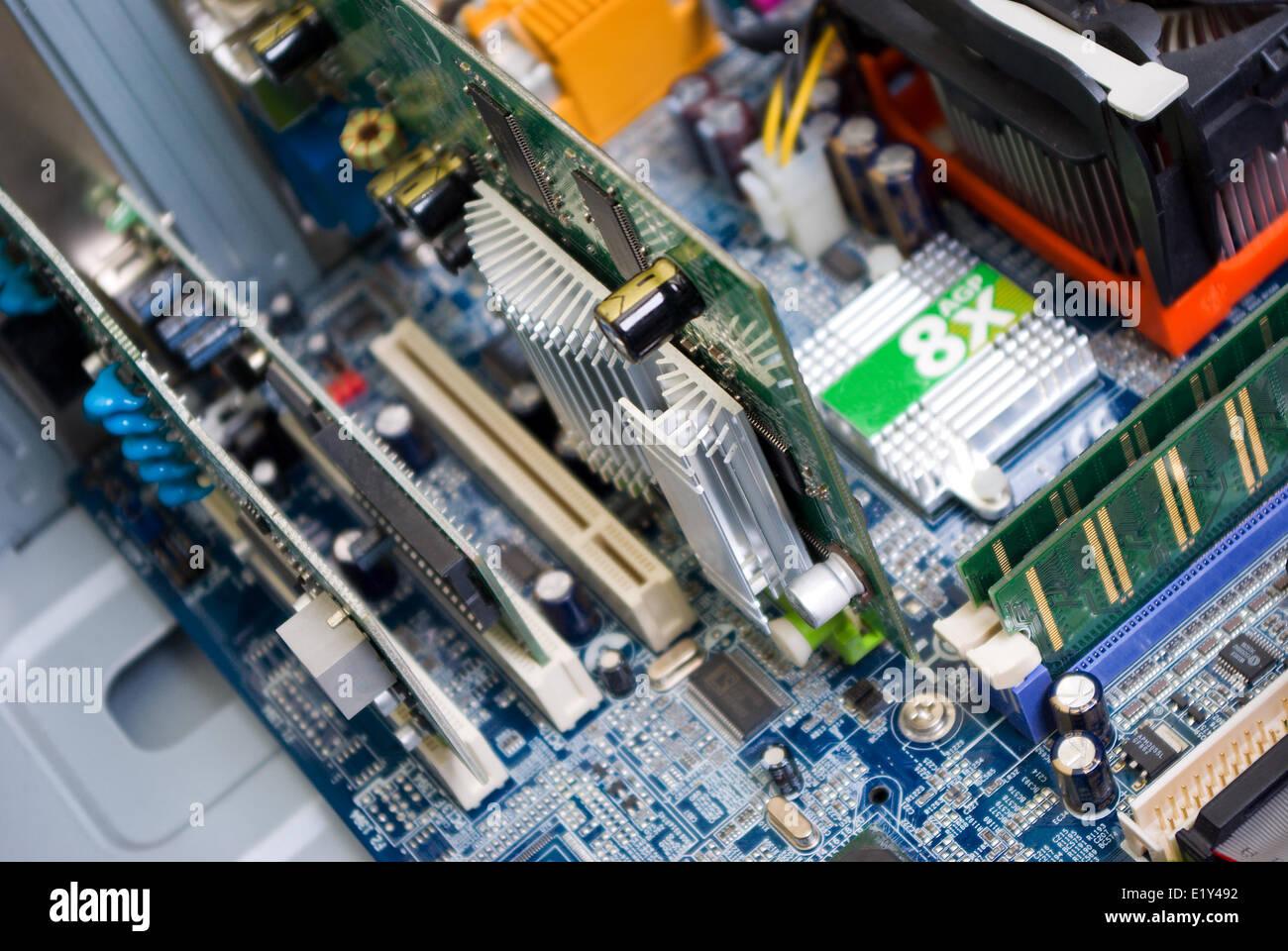 Equipo de fondo - high tech Imagen De Stock