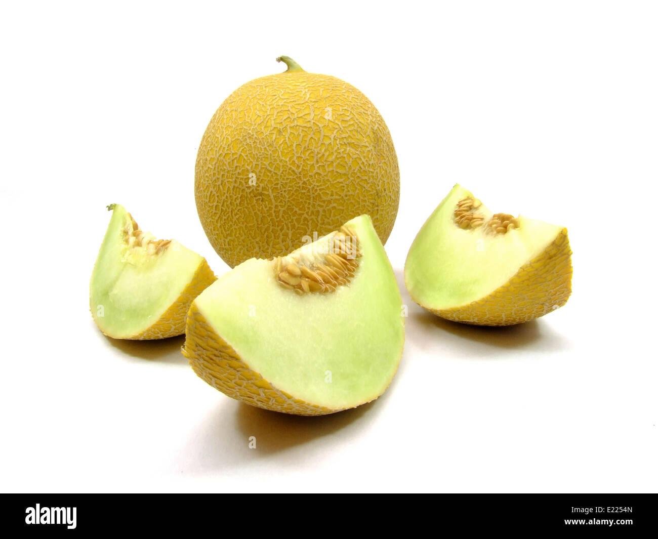 melón Galia Foto de stock