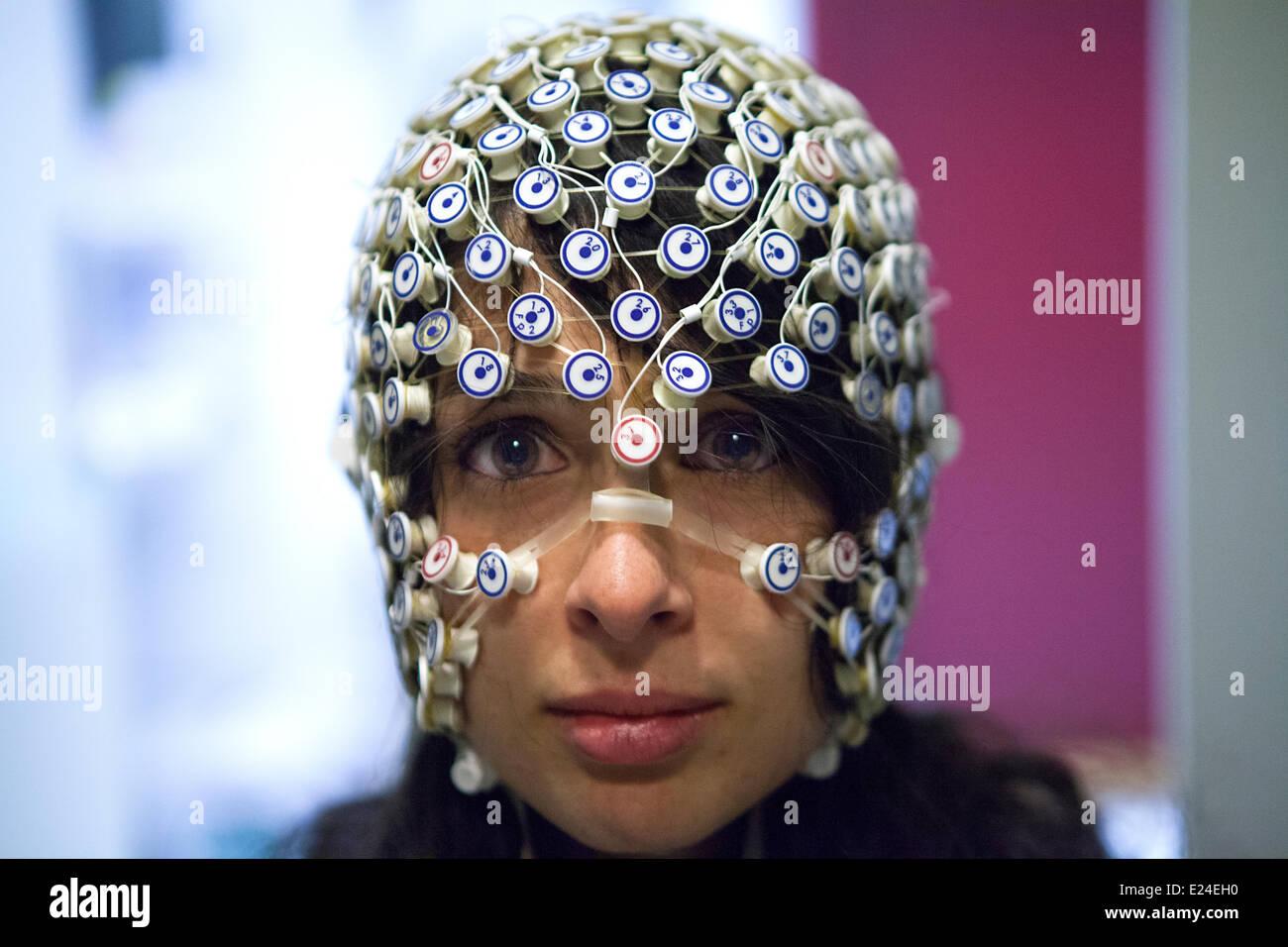 Estudio del cerebro Imagen De Stock