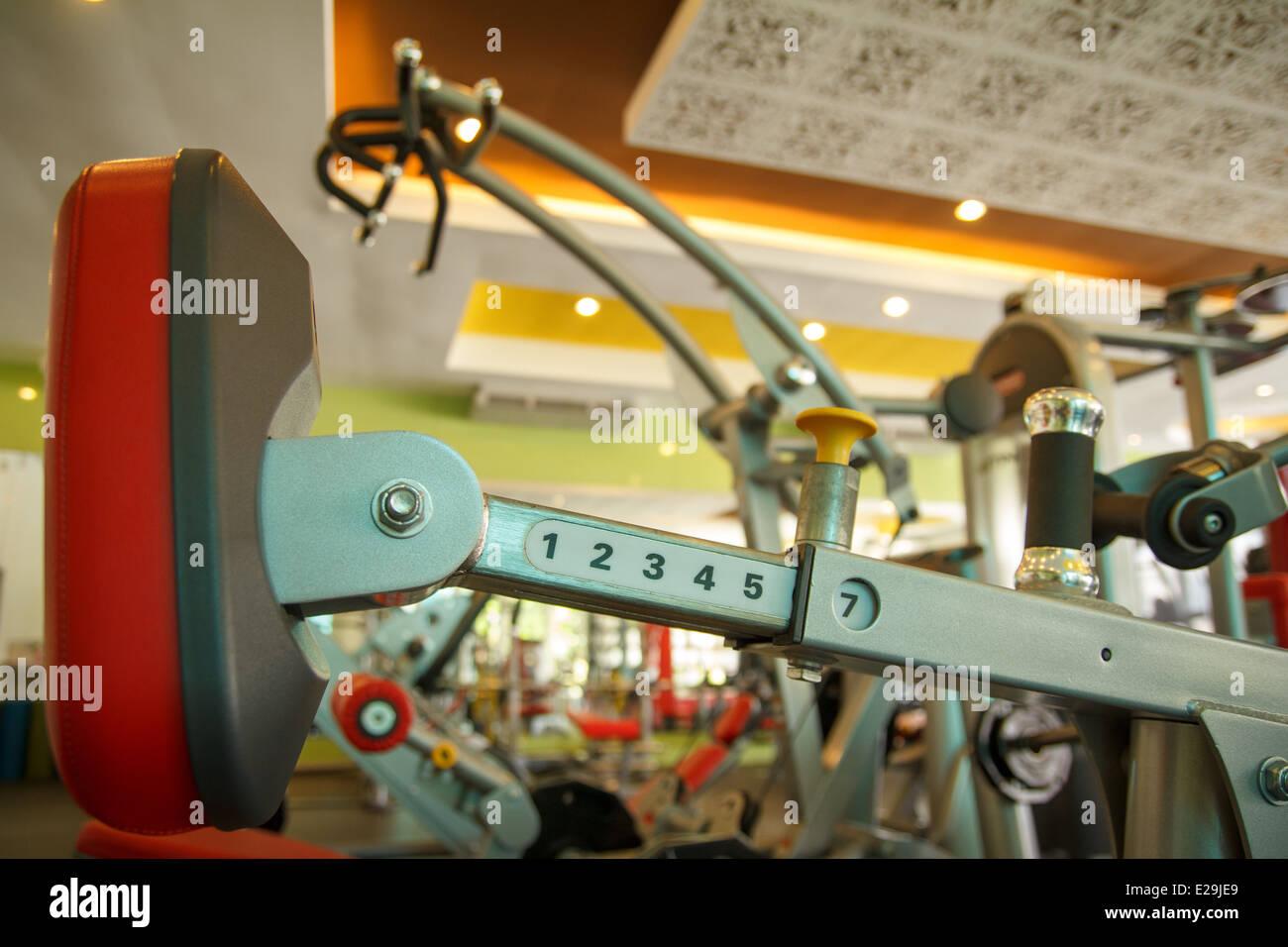 El edificio del cuerpo de la máquina Imagen De Stock