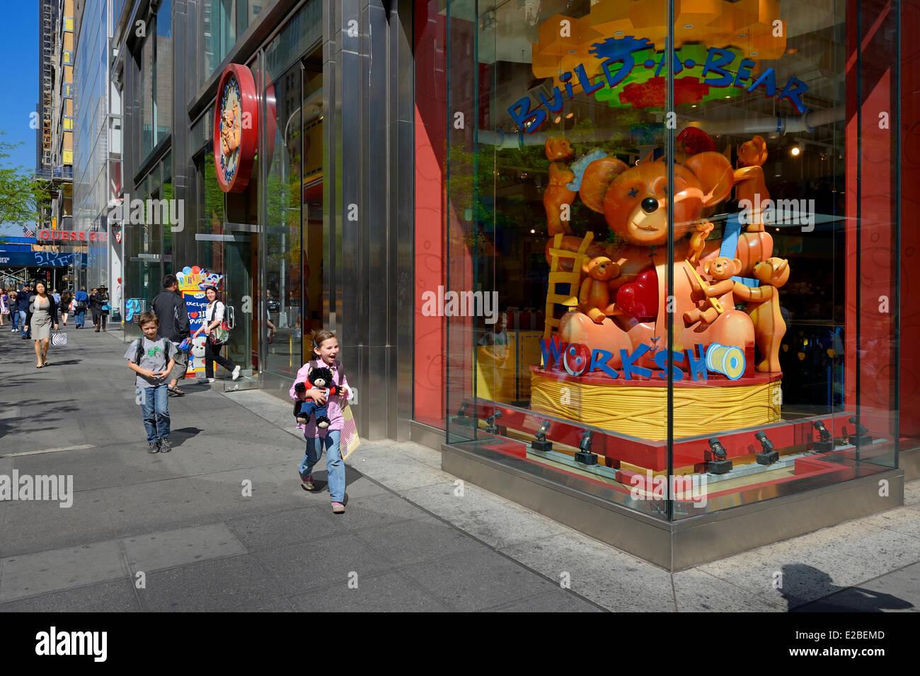 Estados Unidos, Manhattan, Ciudad de Nueva York, Midtown, 5th Avenue ...
