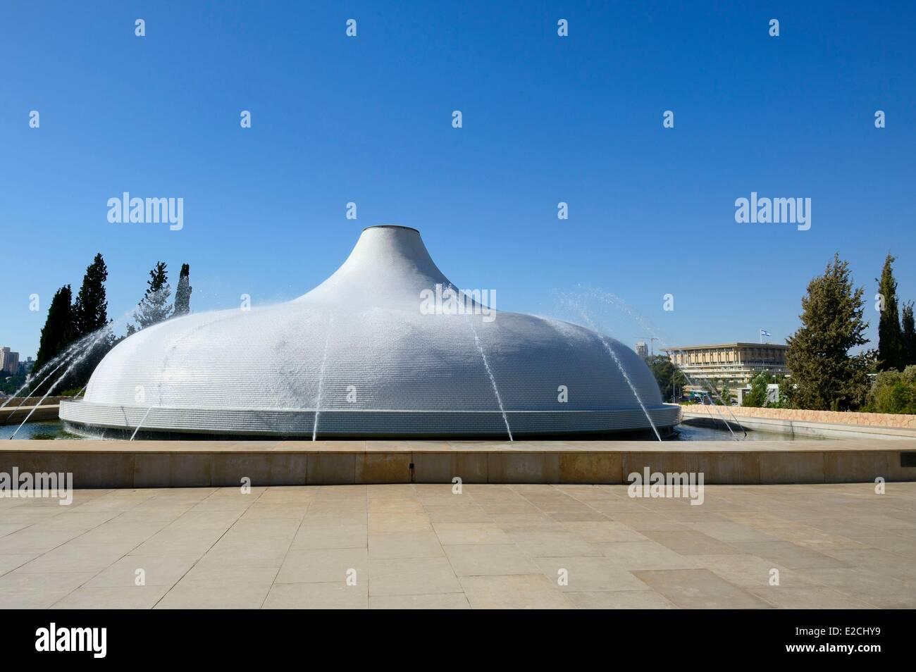 Israel, Jerusalén, distrito de Guivat Ram, Museo de Israel, el Santuario del Libro Imagen De Stock