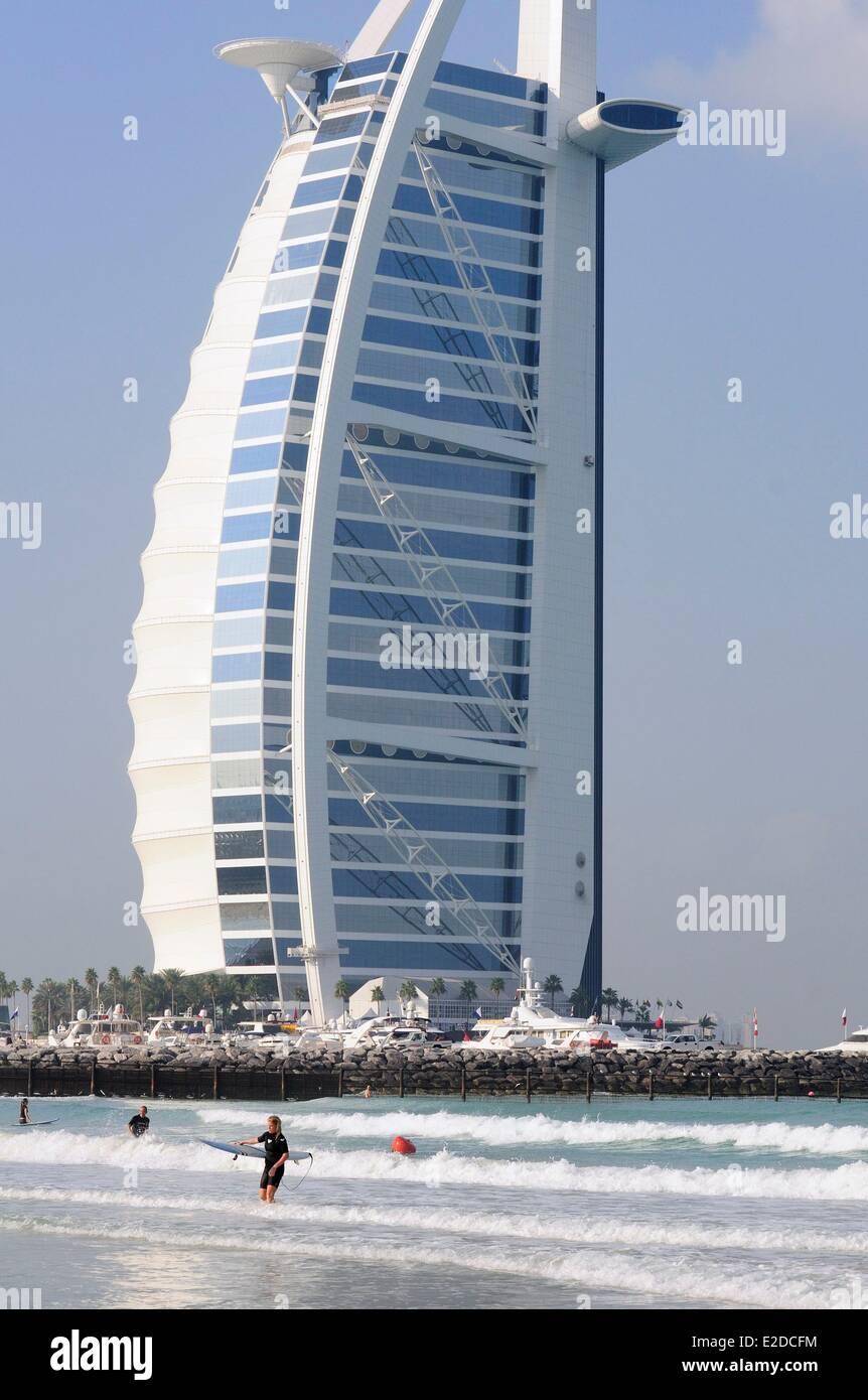 Emiratos árabes Unidos Dubai Jumeirah Area Burj Al Arab Es El Hotel
