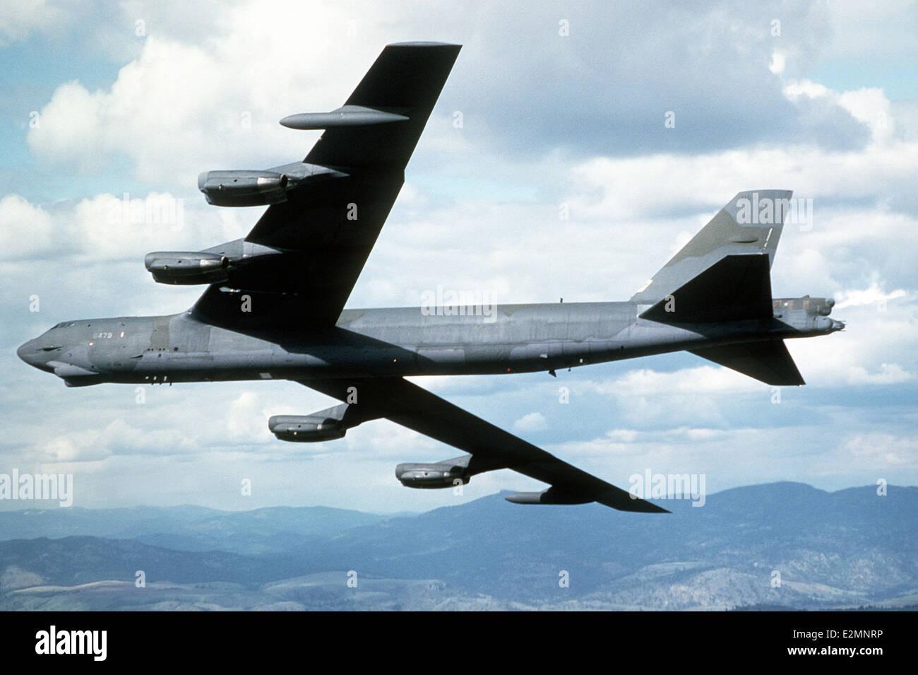 B-52G Stratofortress aviones. Foto de stock