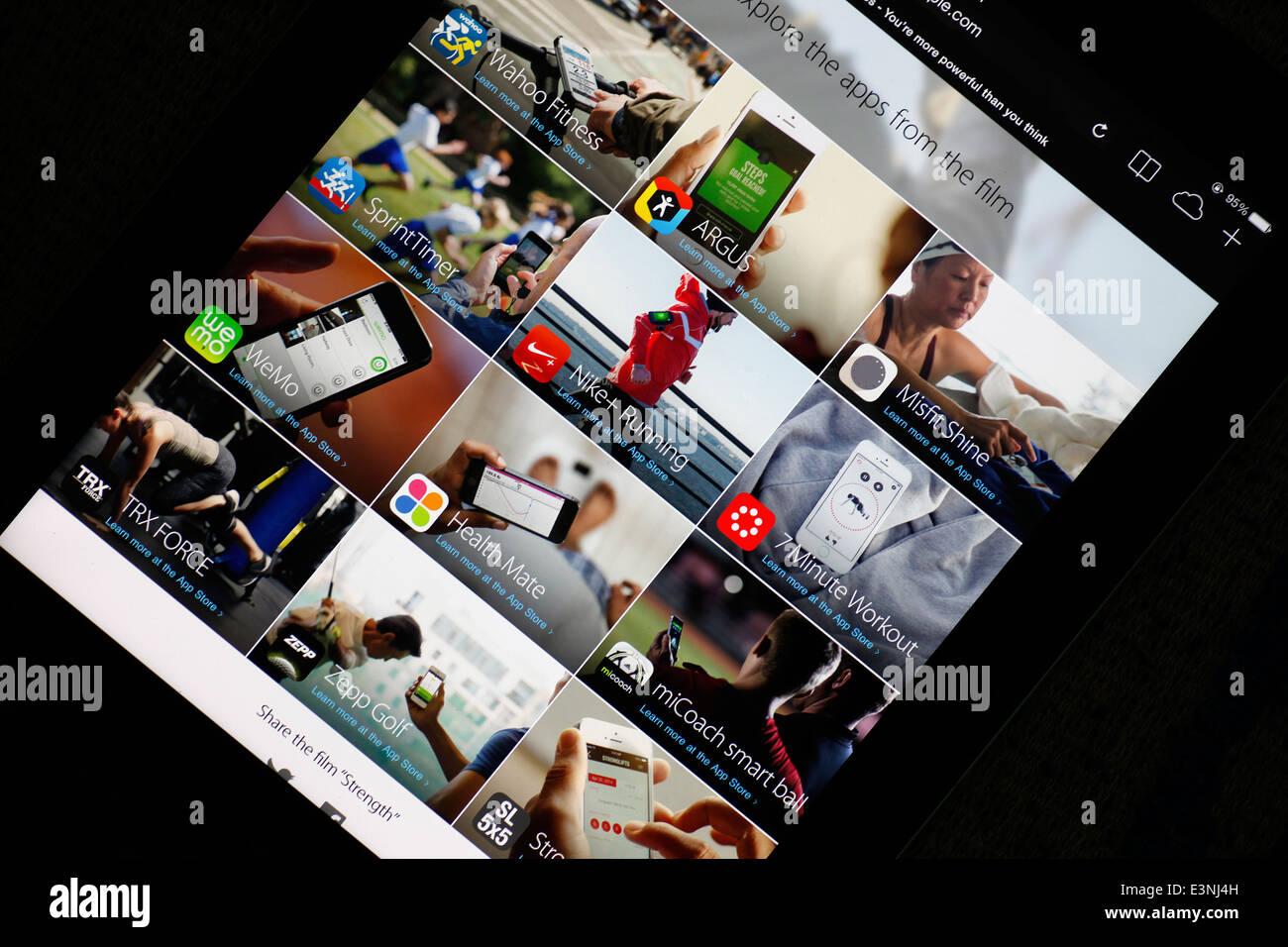 Apple AppStore Imagen De Stock