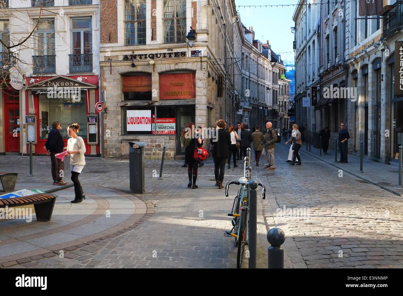 Lille, Francia Imagen De Stock