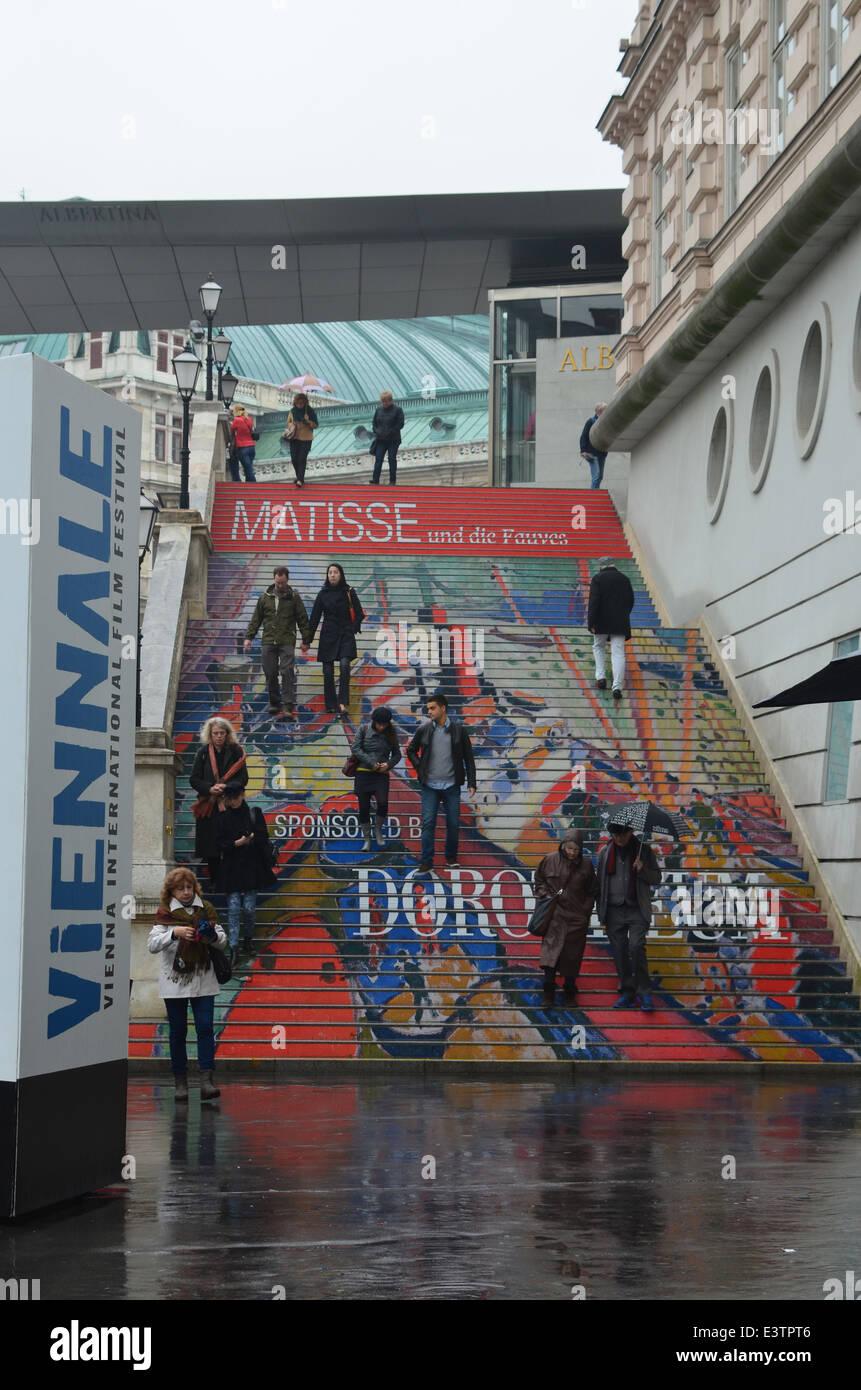 Exposición Matisse, la Viennale, Viena, octubre de 2013 Imagen De Stock