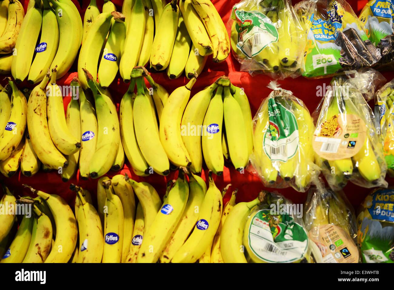 Variación de Bananas Imagen De Stock