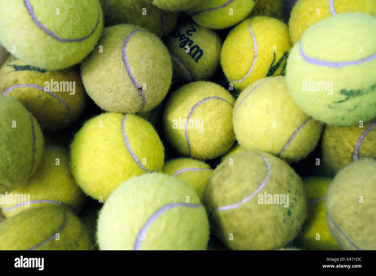 Magdala Tennis Club abre el día 1 de junio de 2014 Imagen De Stock