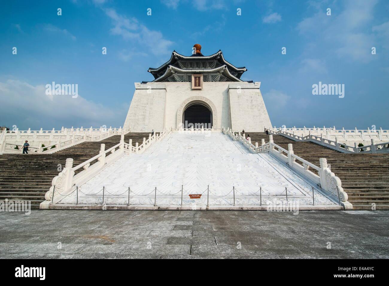 Monumento Conmemorativo de Chiang Kai-Shek, Taipei, Taiwán, Asia Imagen De Stock