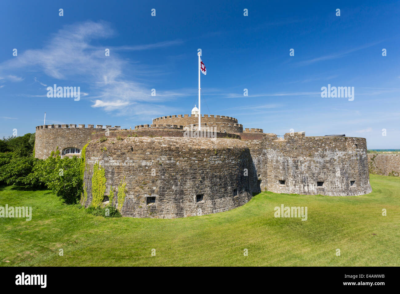 Deal Castle Kent Imagen De Stock