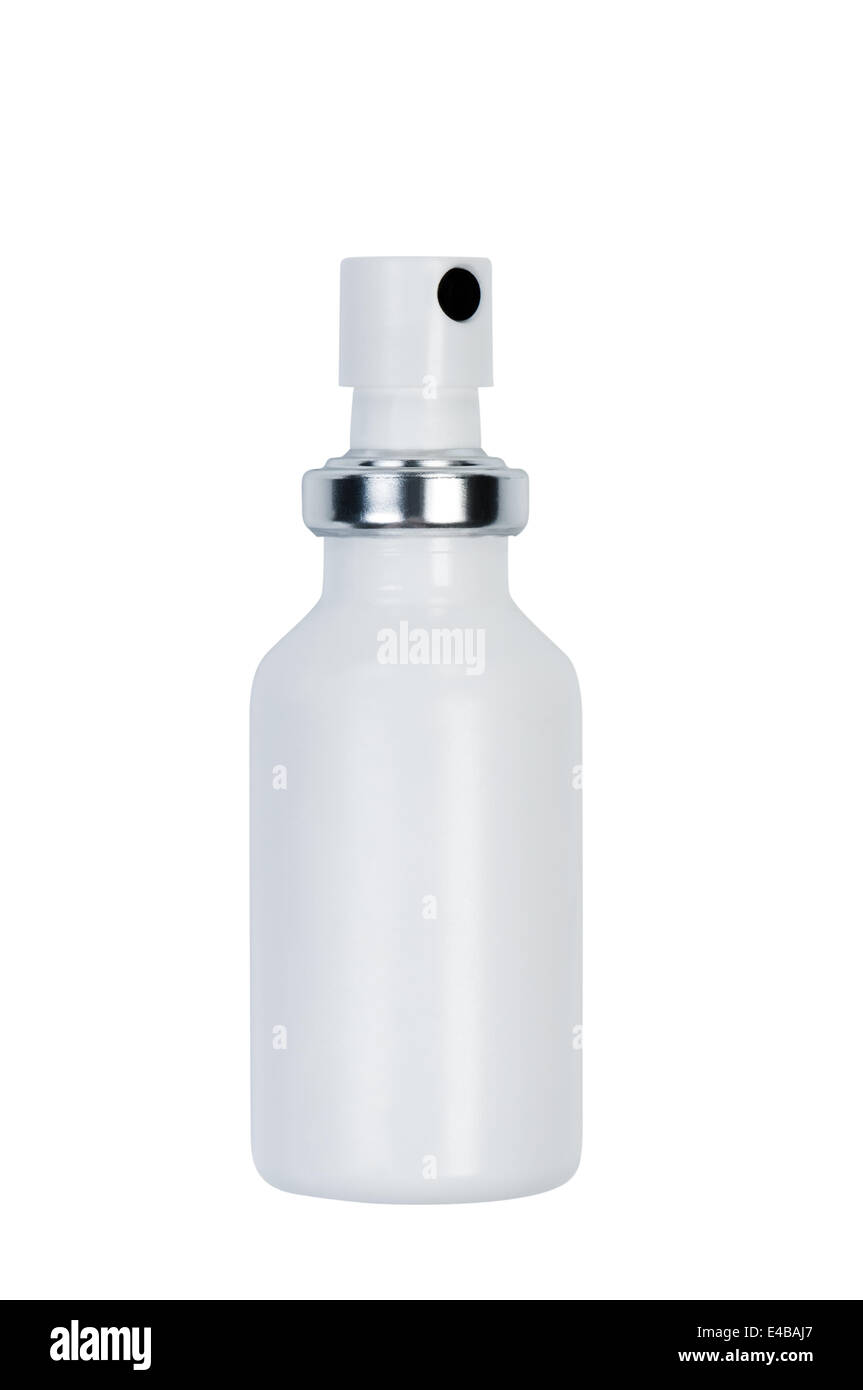 Botella con spray. Imagen De Stock