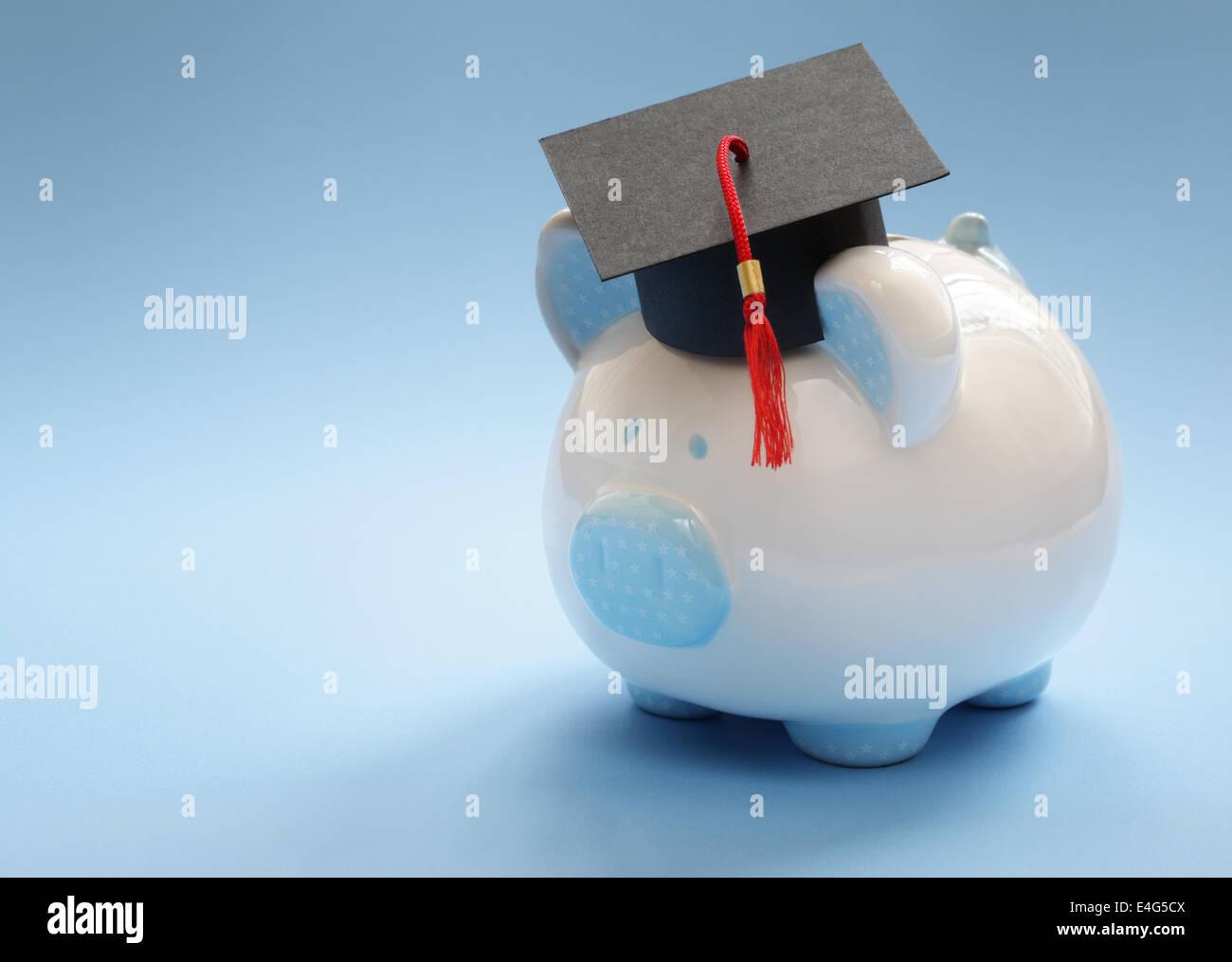 El ahorro para la educación Imagen De Stock