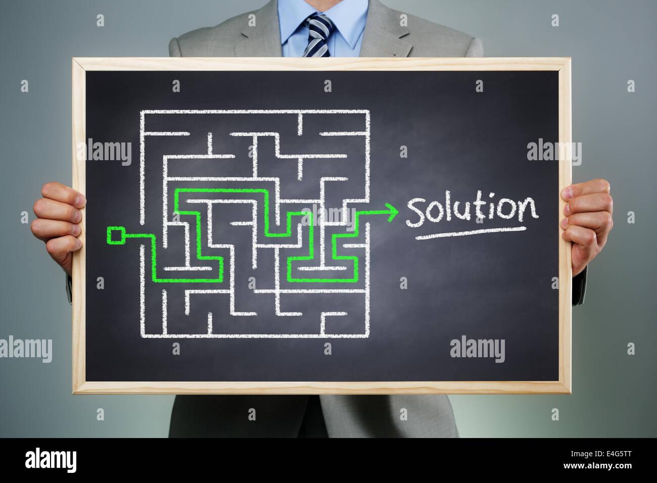 Estrategia empresarial Imagen De Stock