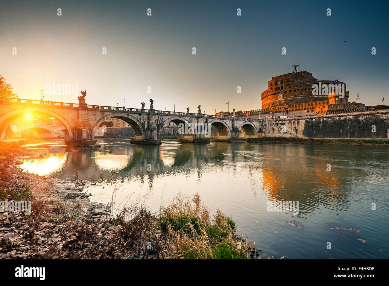 Sant'Angelo, Roma Imagen De Stock