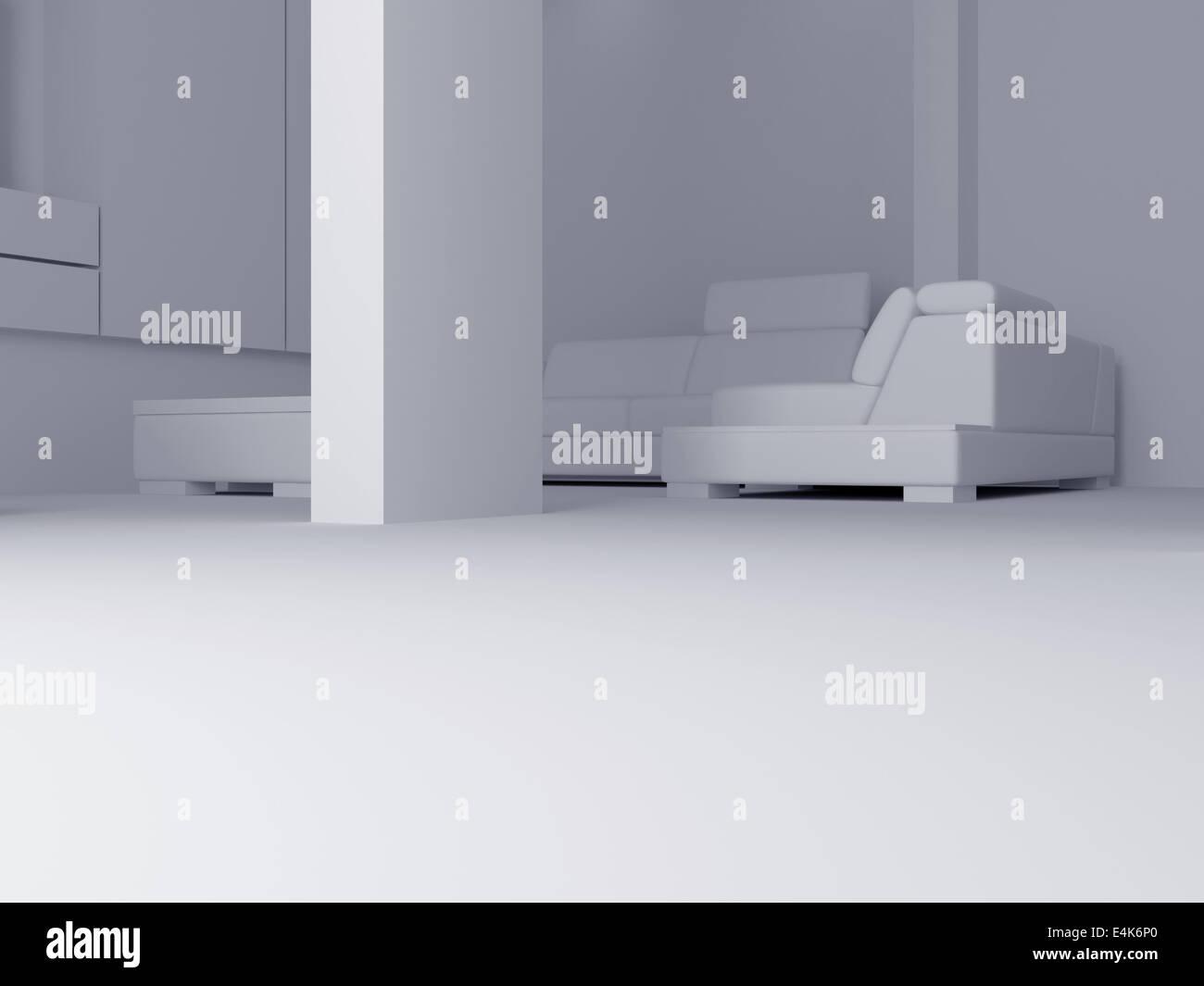 Conjunto interior 15 Imagen De Stock