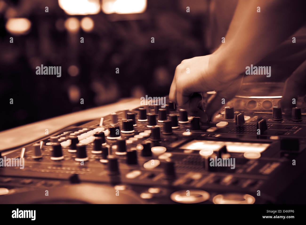 club nocturno Foto de stock