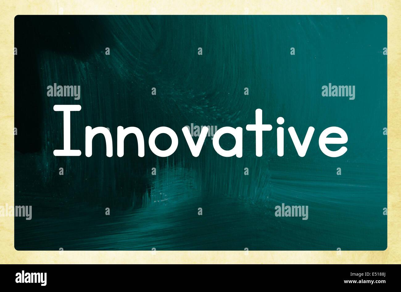 Concepto innovador Imagen De Stock