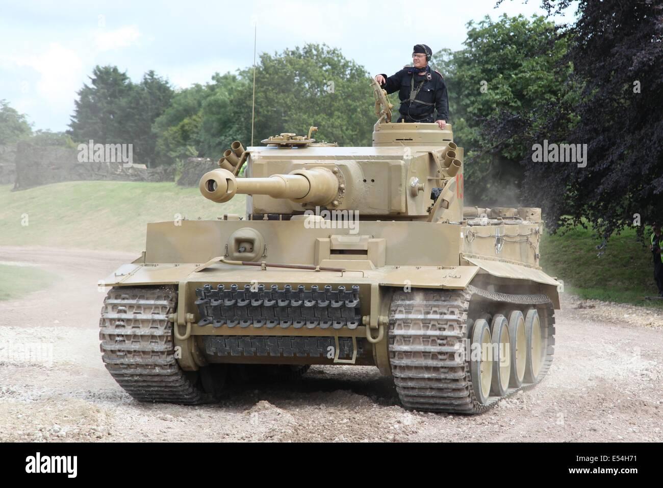 Tiger 1 Sd Kfz 181 Panzerkampfwagen Vi Ausf E Foto