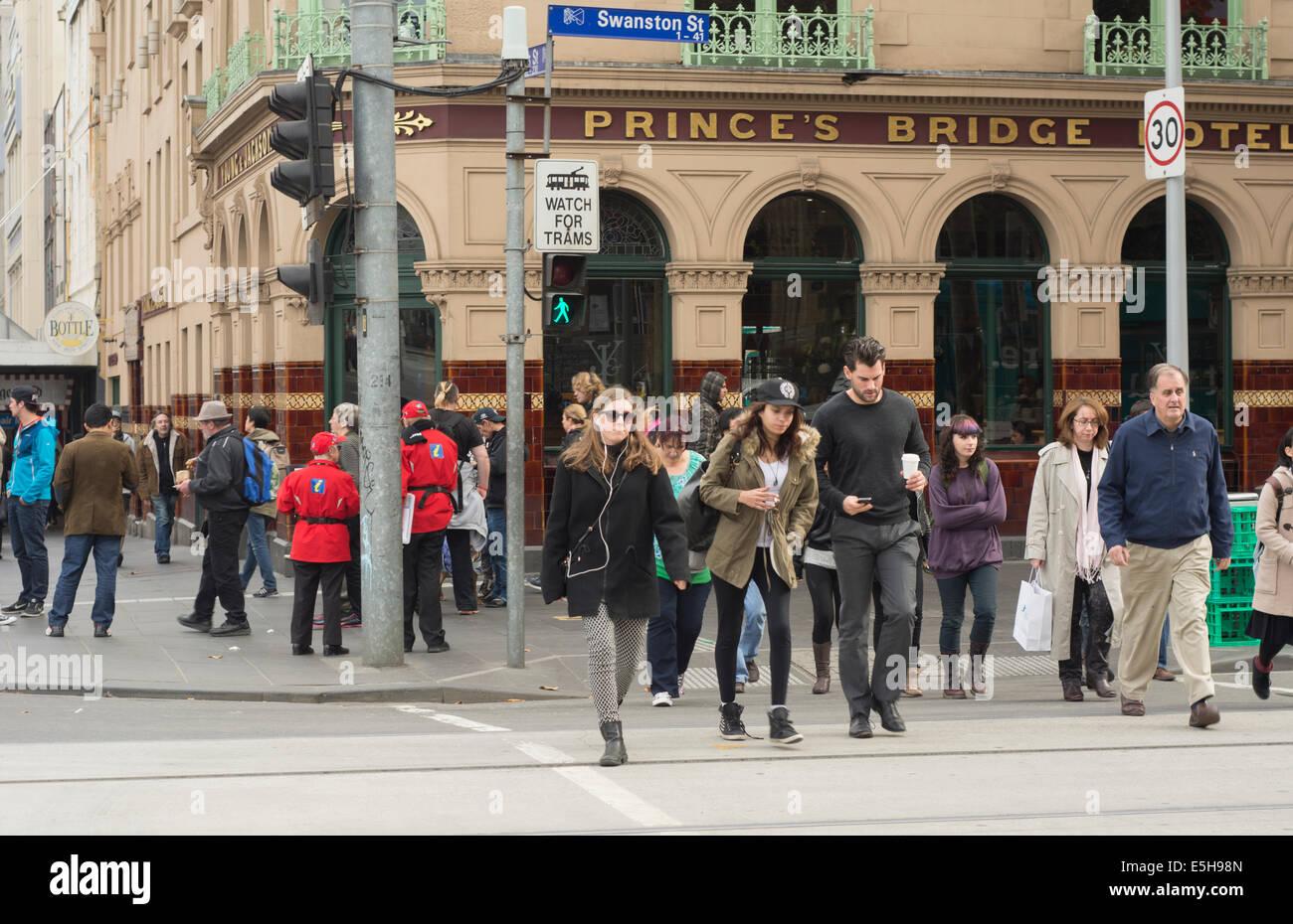 Peatones Imagen De Stock