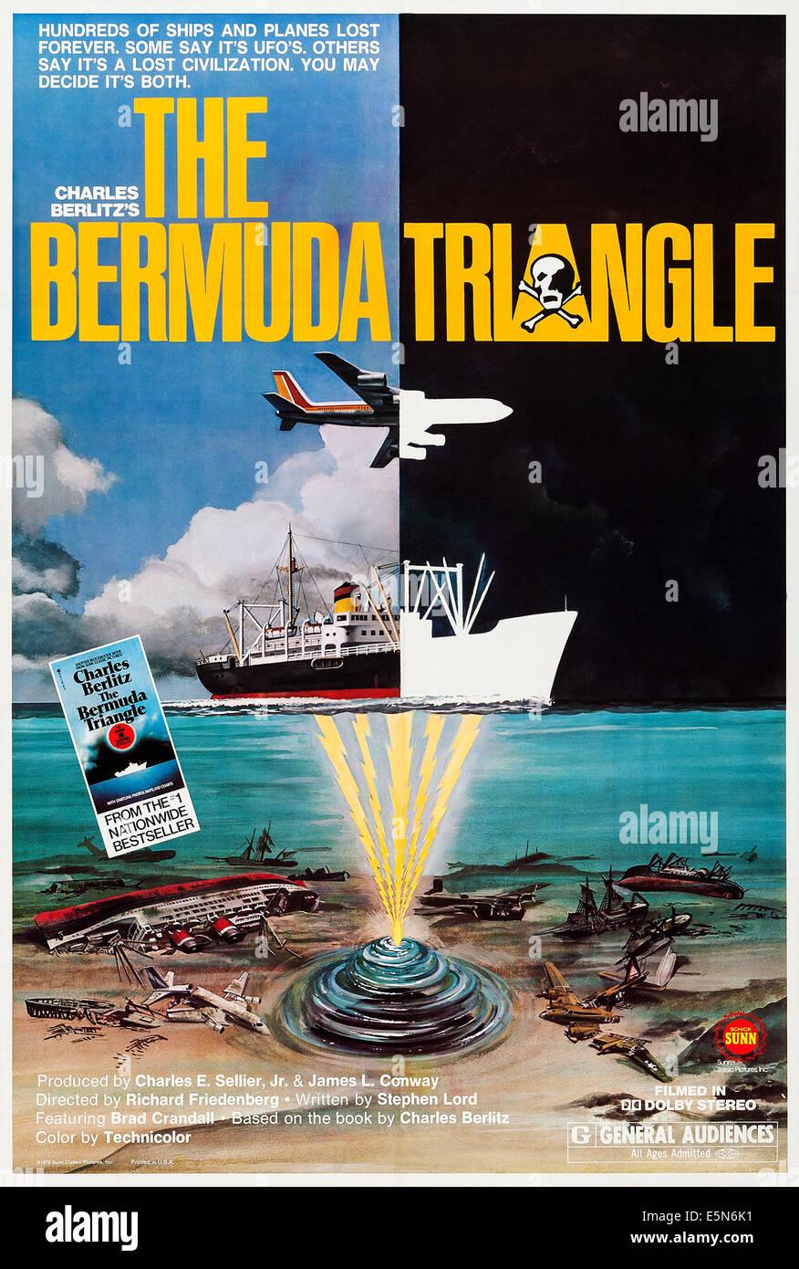 El triángulo de las Bermudas, nosotros póster, 1979, (c) Sunn Classic imágenes/ cortesía: colección de Everett. Foto de stock