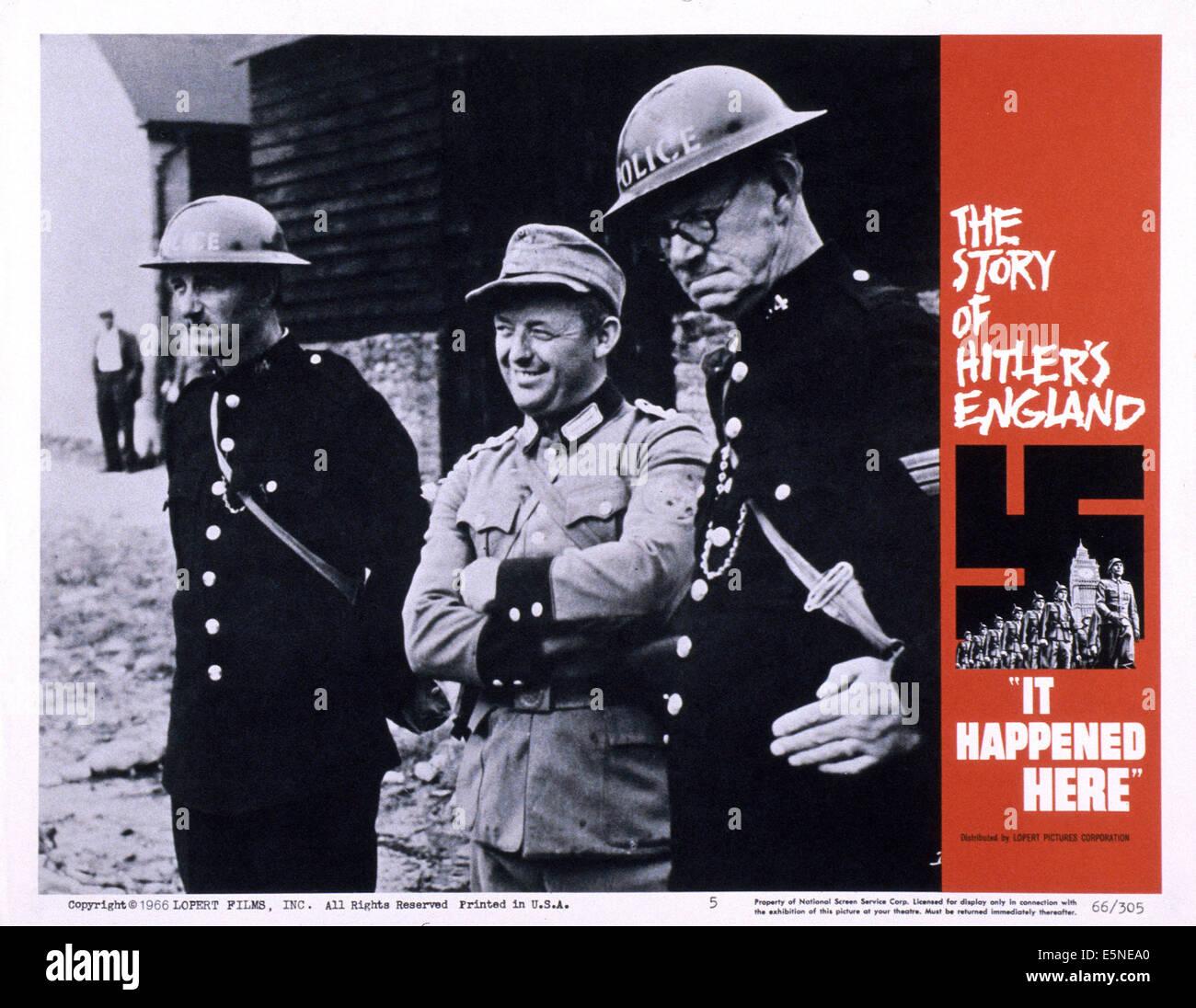 Aquí sucedió, 1965 Imagen De Stock