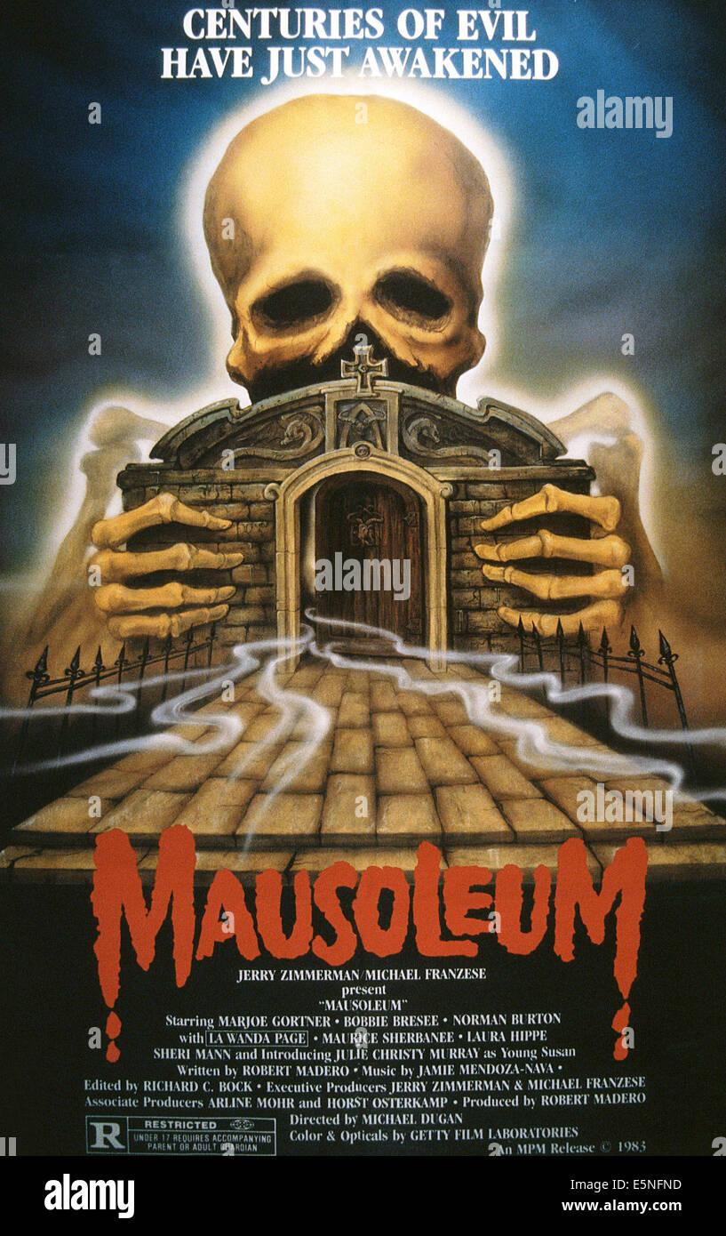 Mausoleo, 1983 © MPM/cortesía Colección Everett Imagen De Stock
