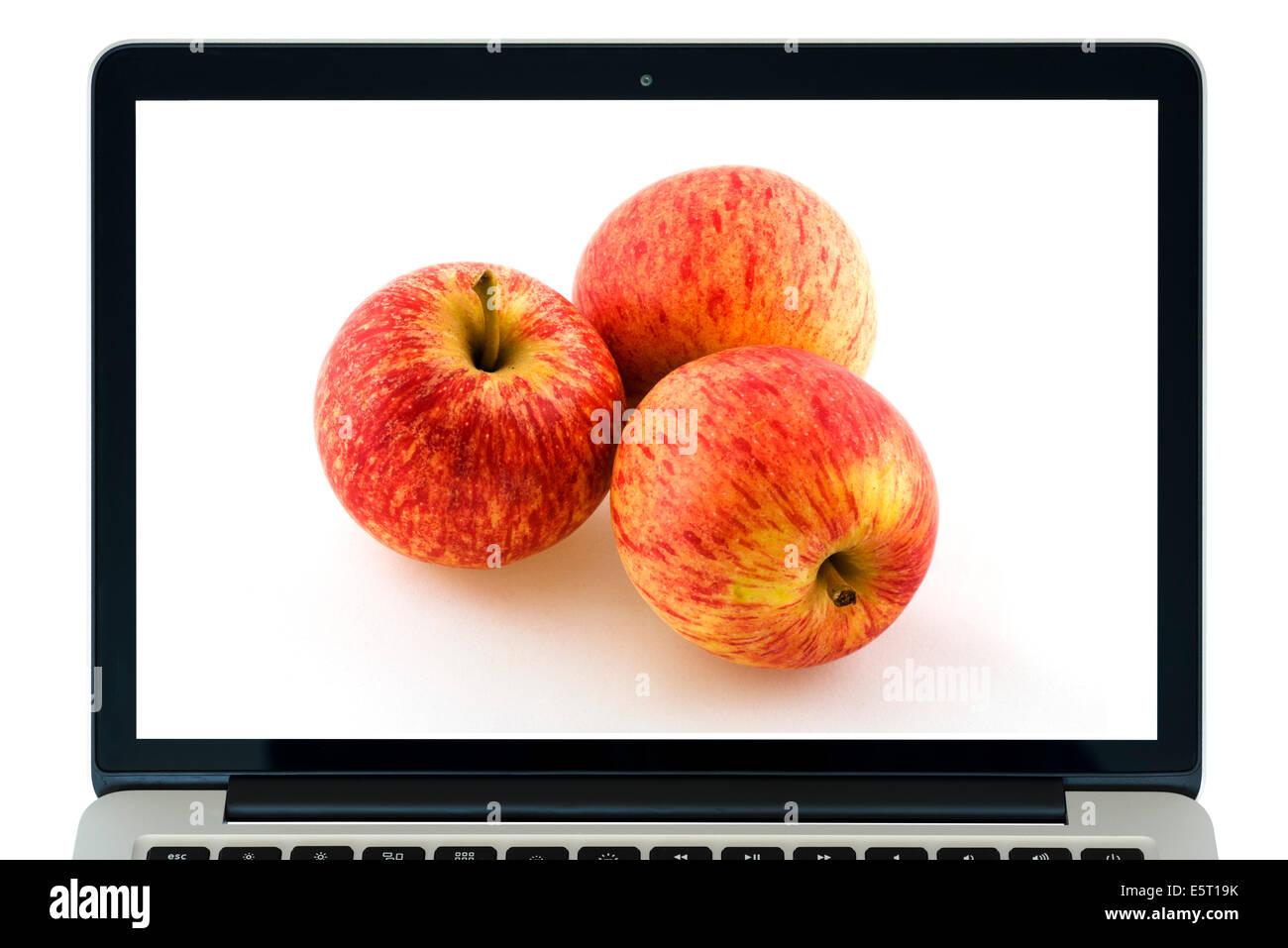 Apple MacBook Pro Retina 13' Imagen De Stock