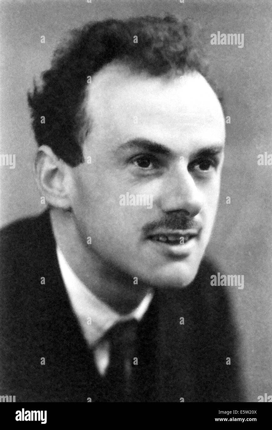 PAUL DIRAC (1902-1984), físico teórico inglés acerca de 1933 Foto de stock