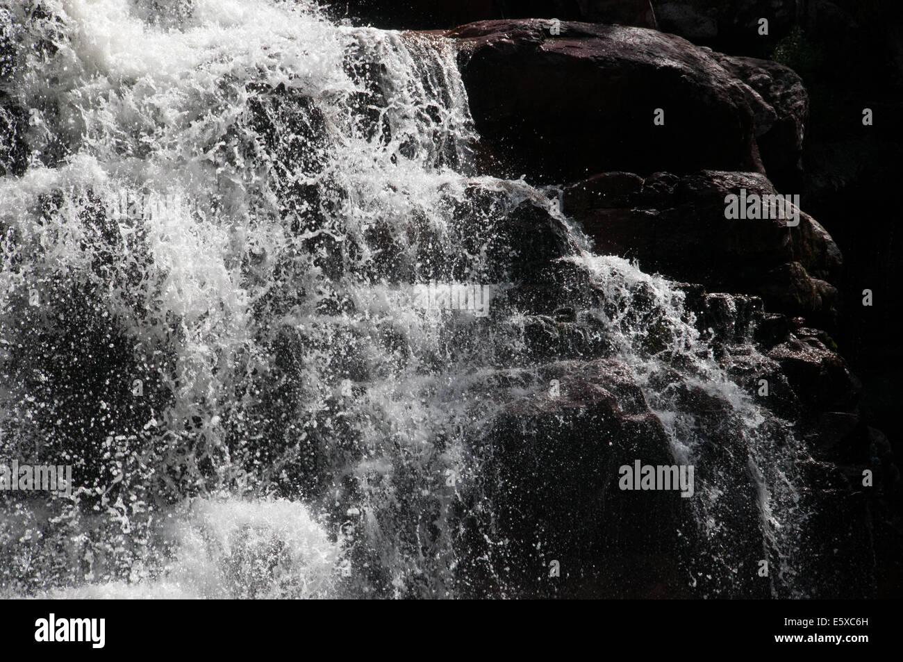 Anjos e Arcanjos -Ángeles y Arcángeles cascadas Alto Paraíso de Goiás Brasil Imagen De Stock
