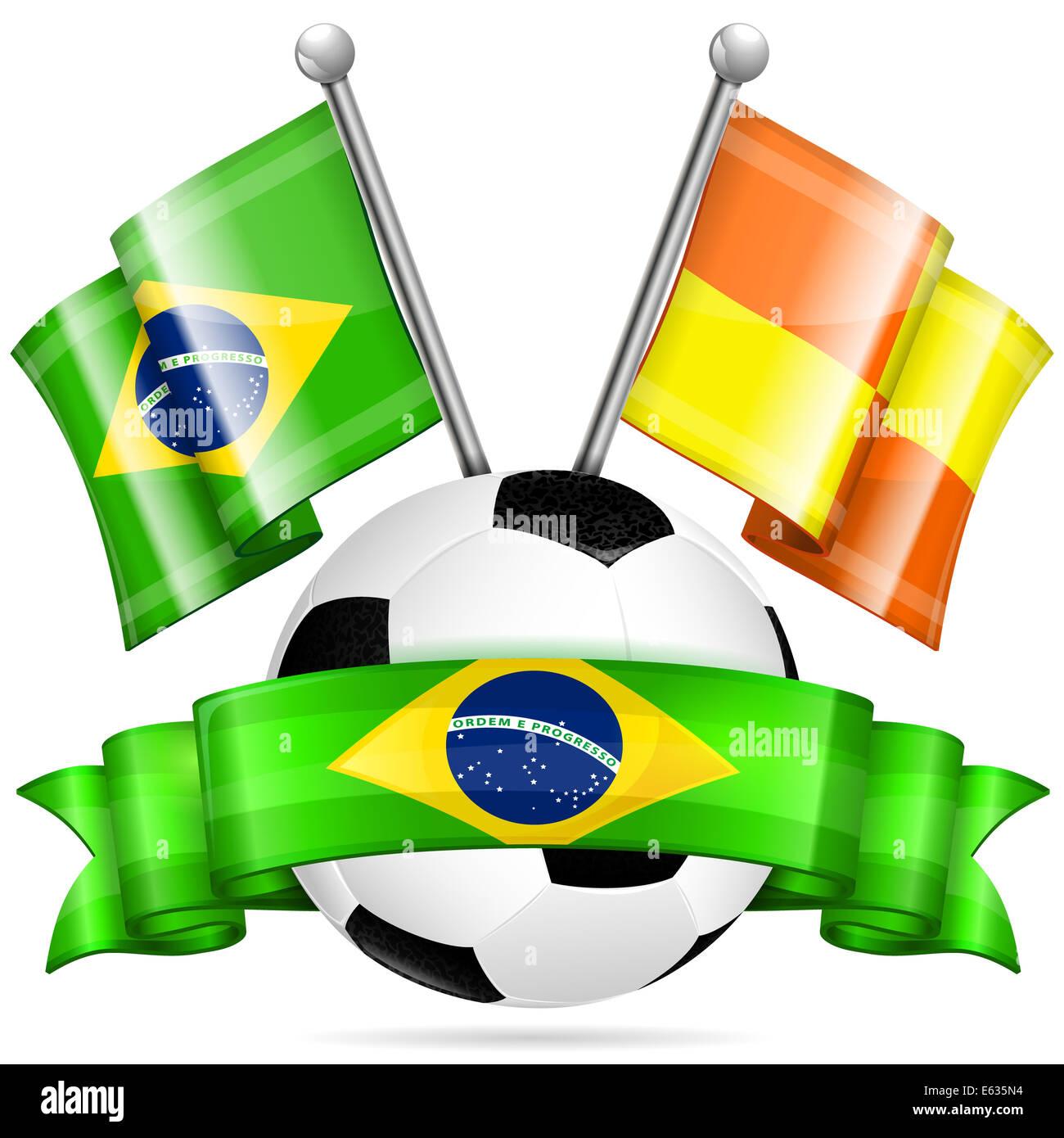 8ed4abac6b885 Bandera De Futbol Imágenes De Stock   Bandera De Futbol Fotos De ...