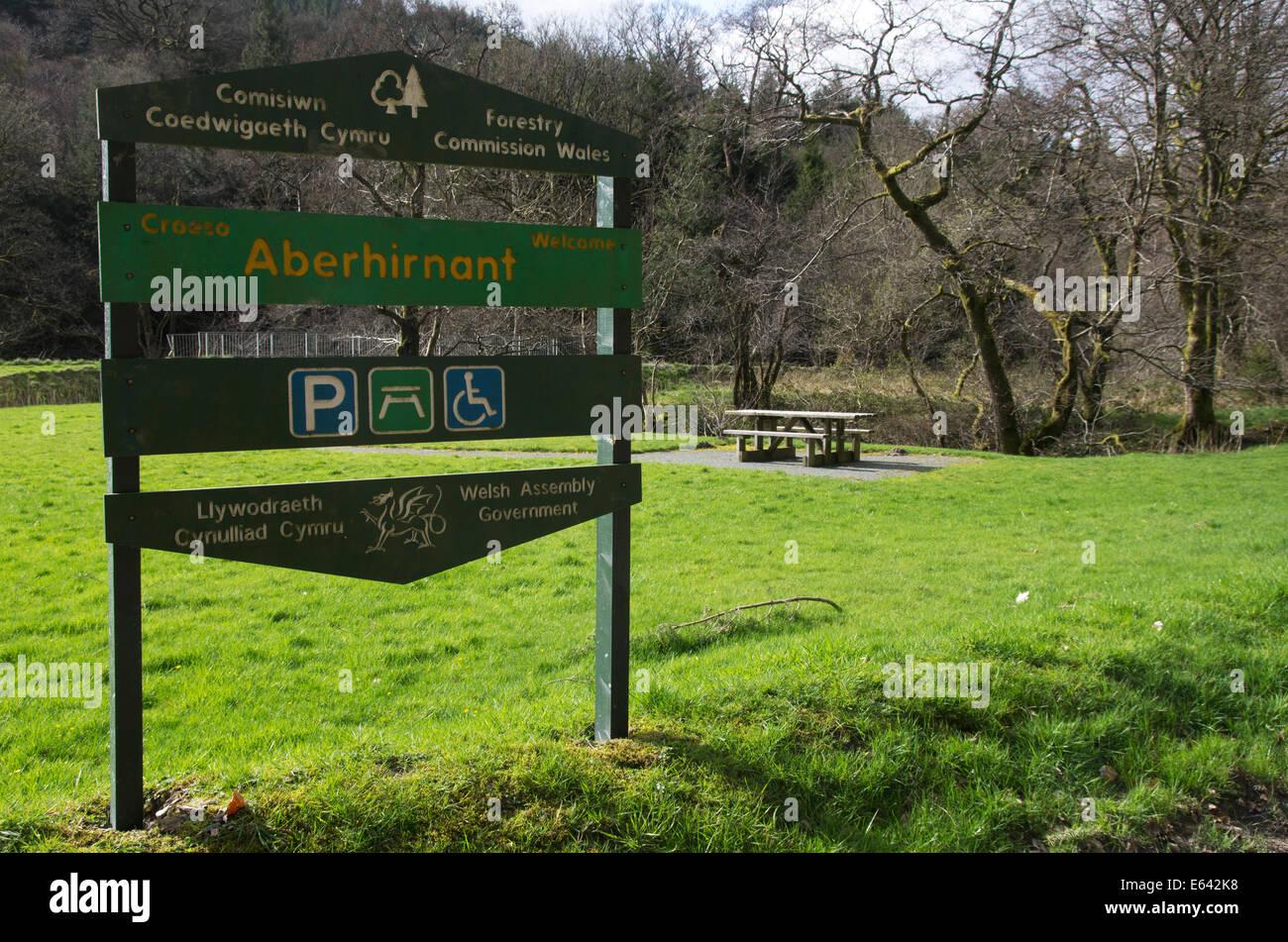 Wales Parking Sign Imágenes De Stock   Wales Parking Sign Fotos De ... 687fbc90cebe2