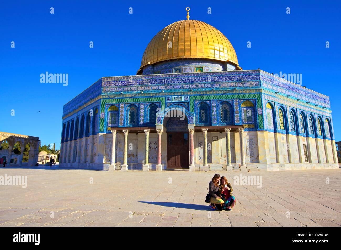 El Monte del Templo, en Jerusalén, Israel, Oriente Medio Imagen De Stock