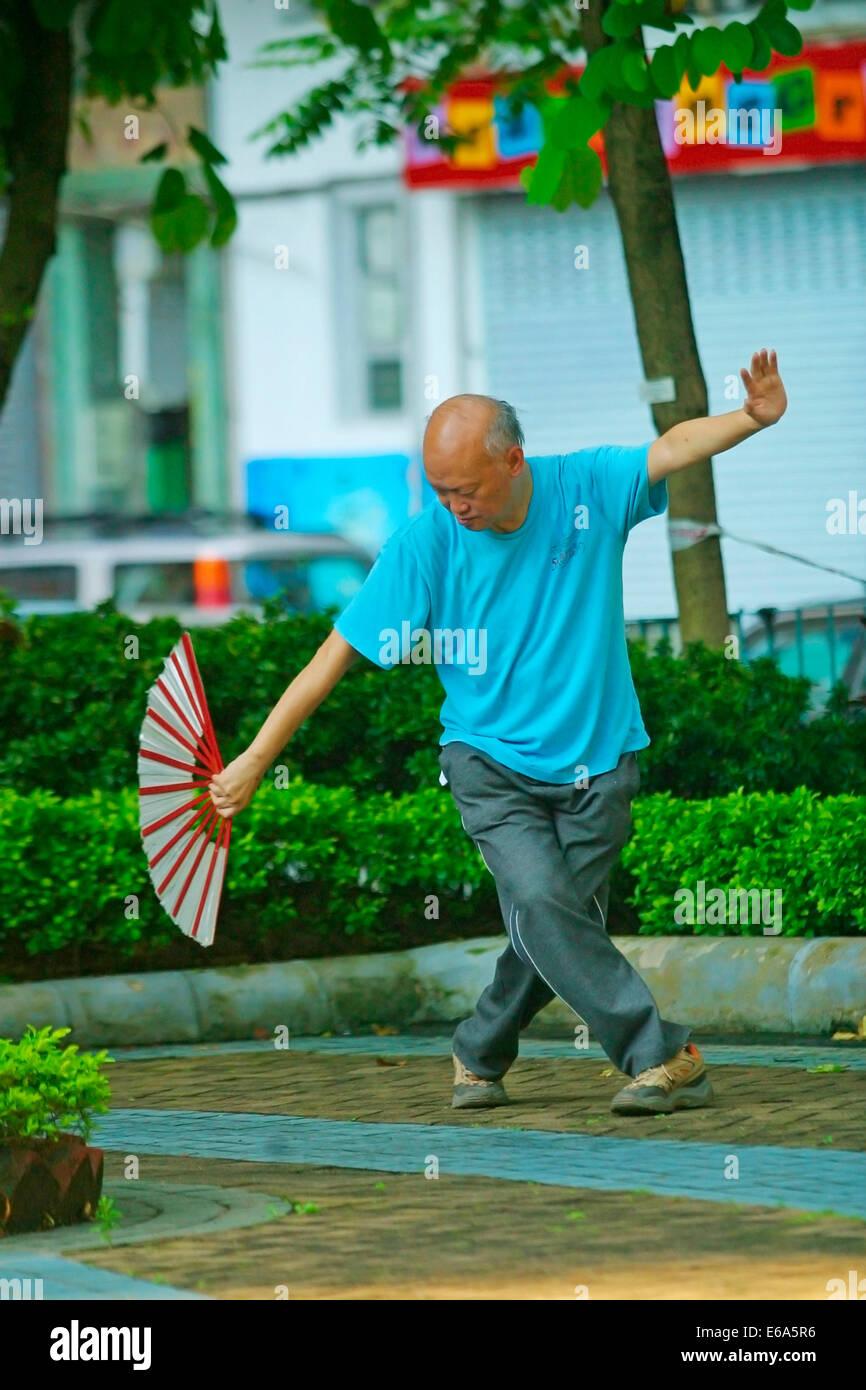 China,bailando,etnia china Imagen De Stock