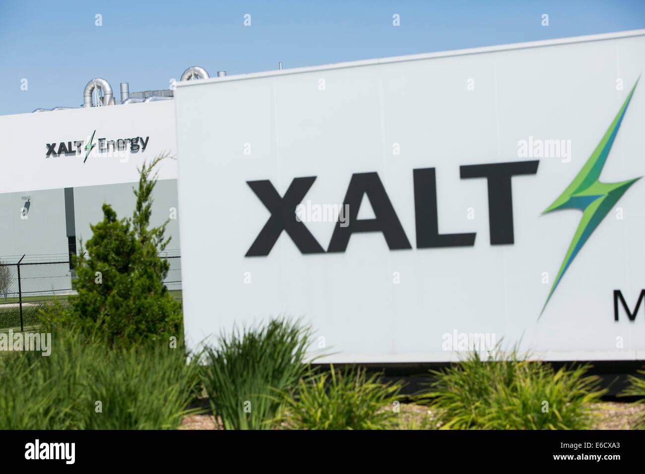 La sede de XALT Energía en Midland, Michigan. Imagen De Stock