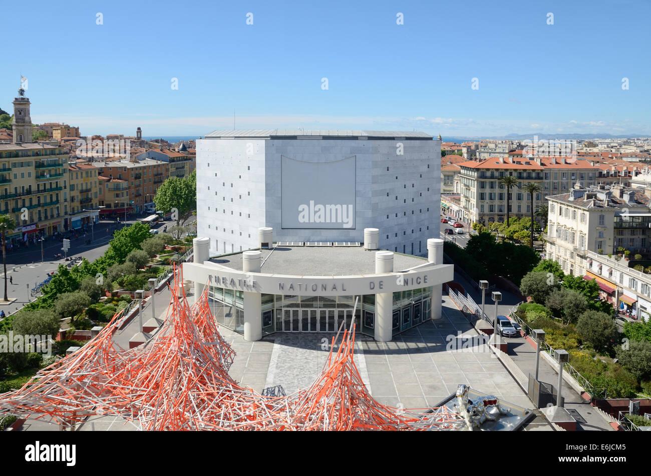 Edificio Del Teatro Nacional Desde La Terraza De La Azotea