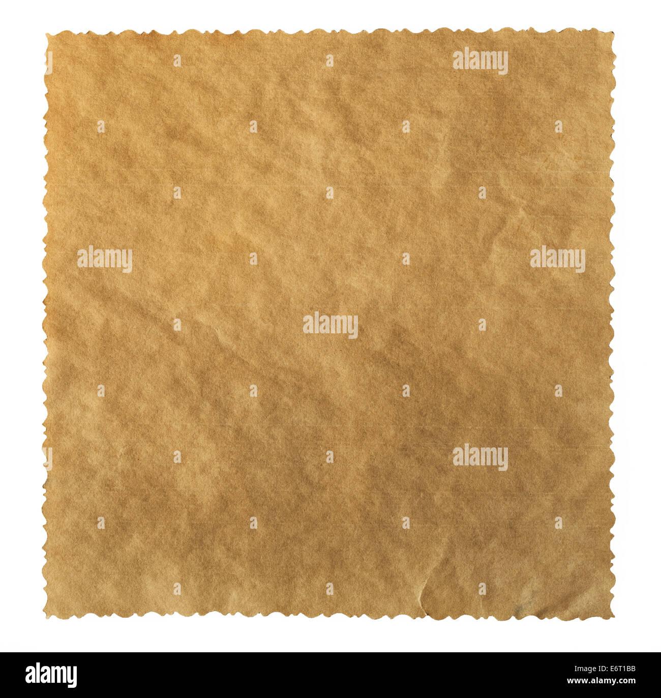 Texturas de papel viejo fondo con espacio para el texto. Trazado de recorte Imagen De Stock
