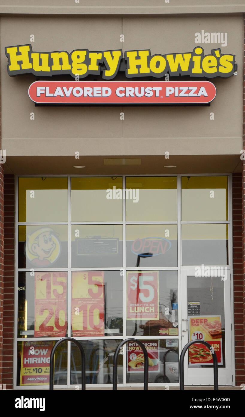 ANN ARBOR, MI - Agosto 24: Hambre Howie's East Ann Arbor store es mostrado el 24 de agosto de 2014. Foto de stock