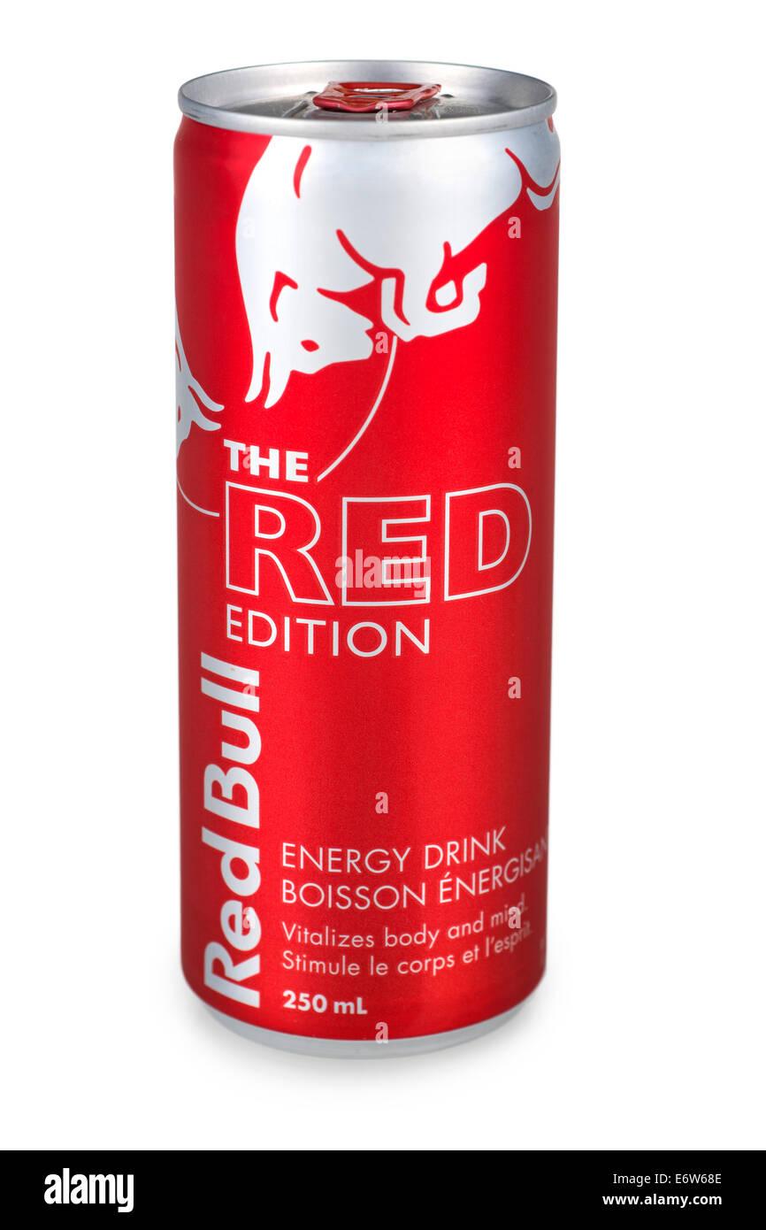 Red Bull Energy Drink puede, Red Bull puede Imagen De Stock