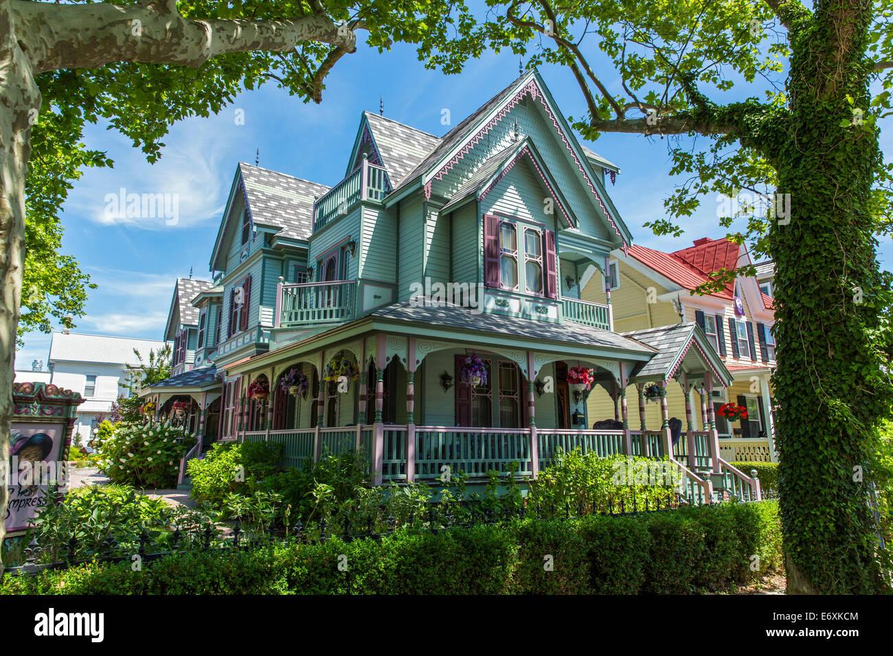 Ee.Uu.,Nueva Jersey,Cape May, la Emperatriz bed and breakfast Imagen De Stock