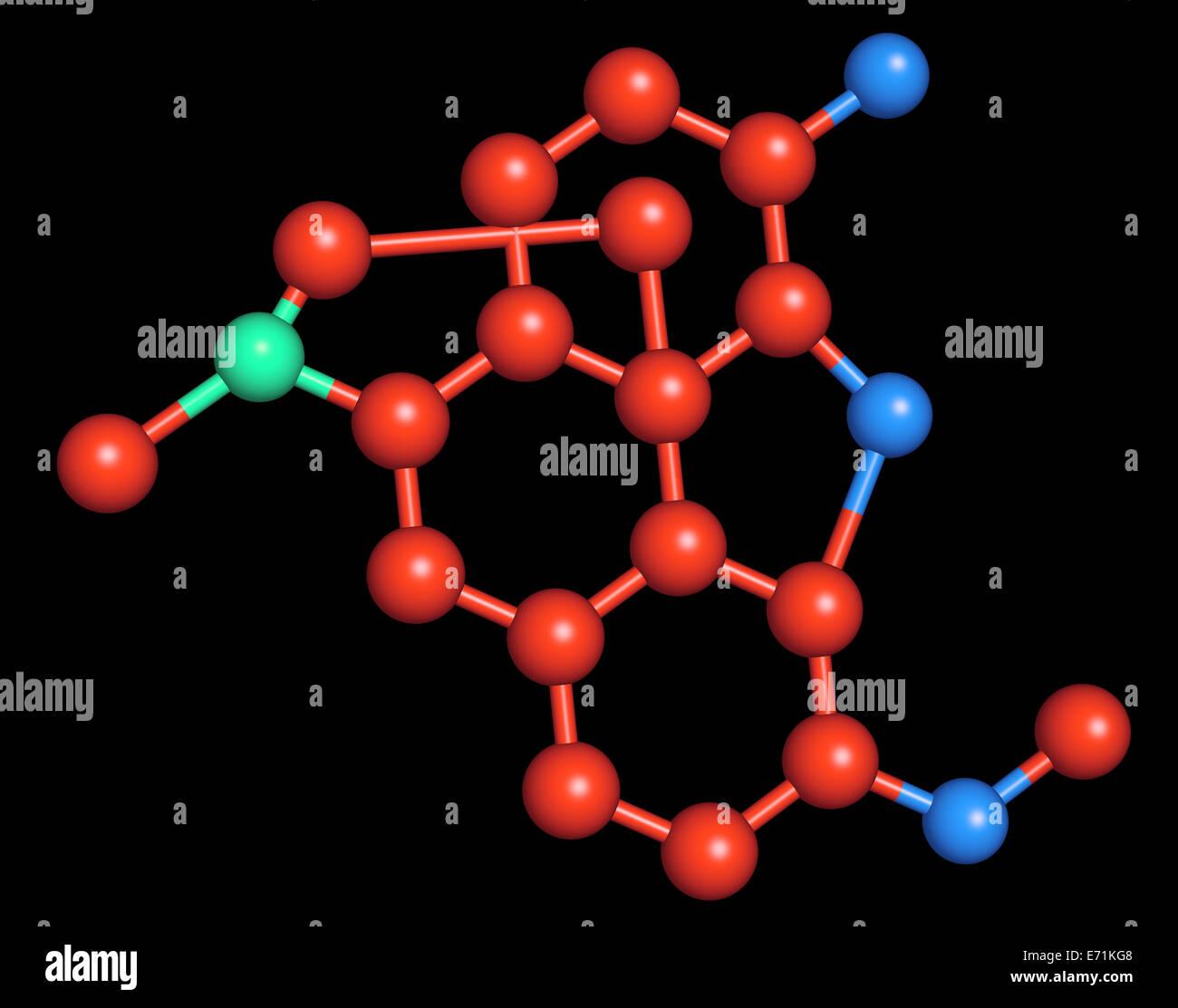 La hidrocodona es un semi-opioide sintético derivado de la codeína. La hidrocodona se usa oralmente como Imagen De Stock