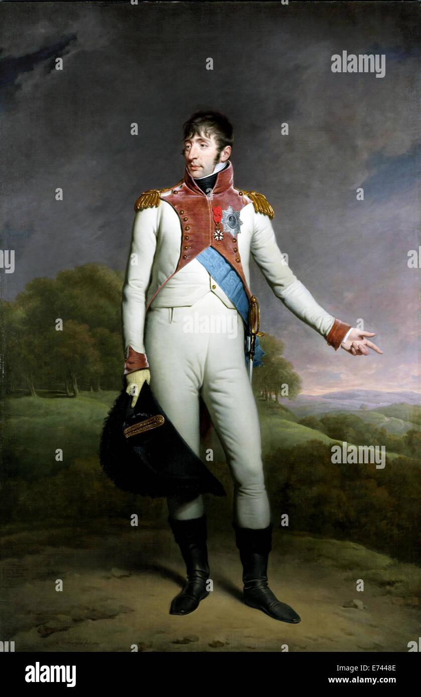 Retrato de Luis Napoleón, rey de Holanda - por Charles Howard Hodges, 1809 Foto de stock