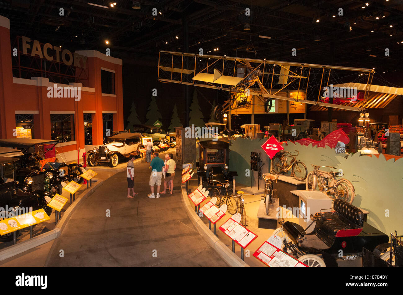 Elk203-5676 Wetaskiwin, Alberta, Canadá, museo Reynolds-Alberta, automóviles antiguos Imagen De Stock