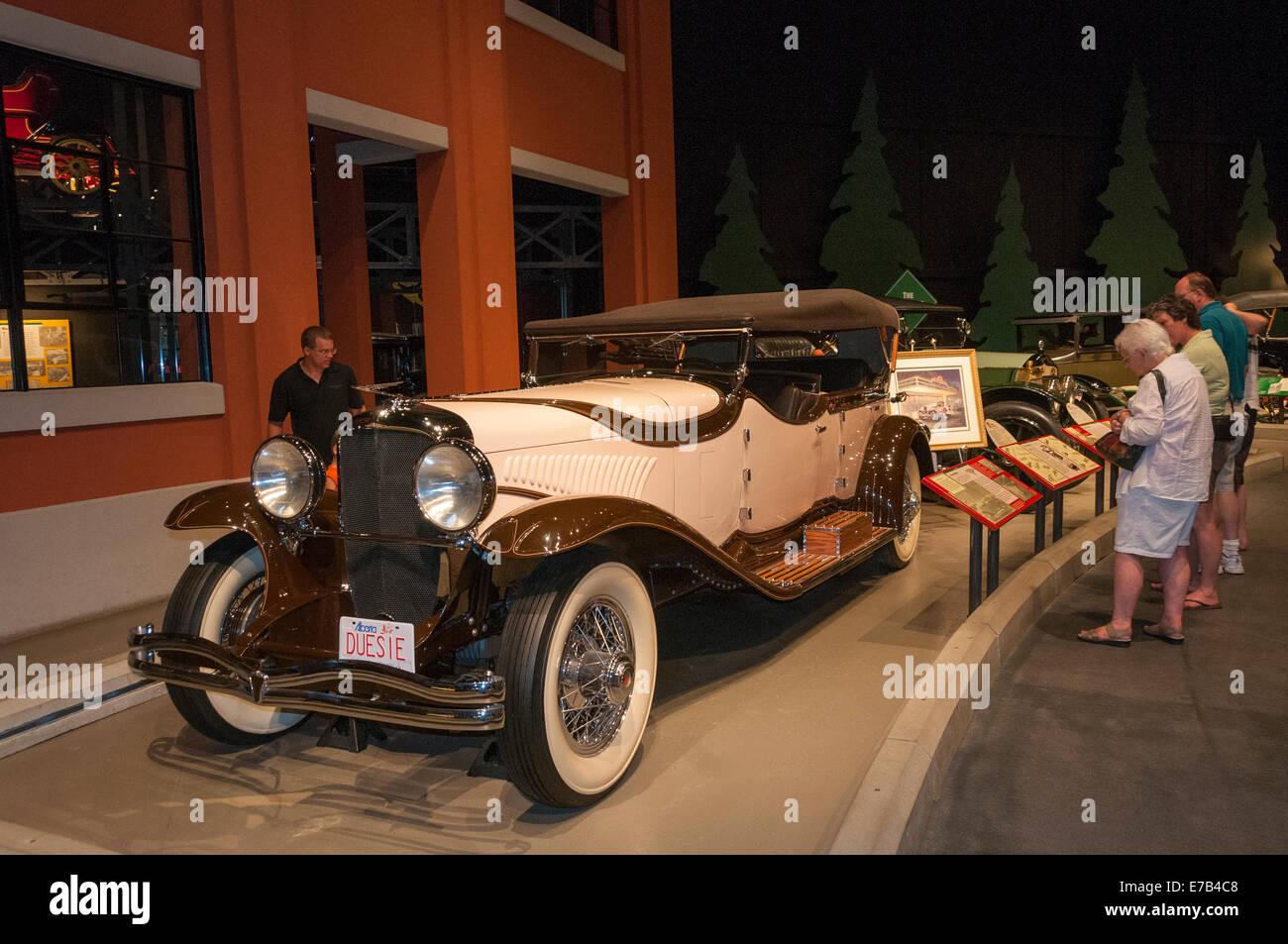 Elk203-5681 Wetaskiwin, Alberta, Canadá, museo Reynolds-Alberta, automóviles antiguos Imagen De Stock