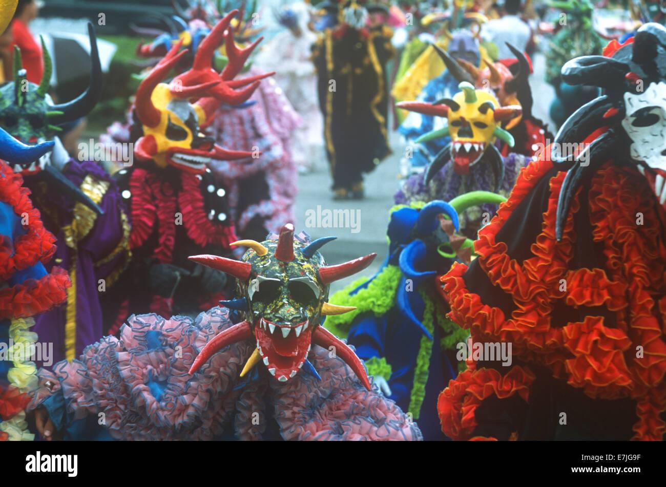 Mardi Gras, Ponce, Puerto Rico, territorio de los EE.UU., el Caribe. Imagen De Stock
